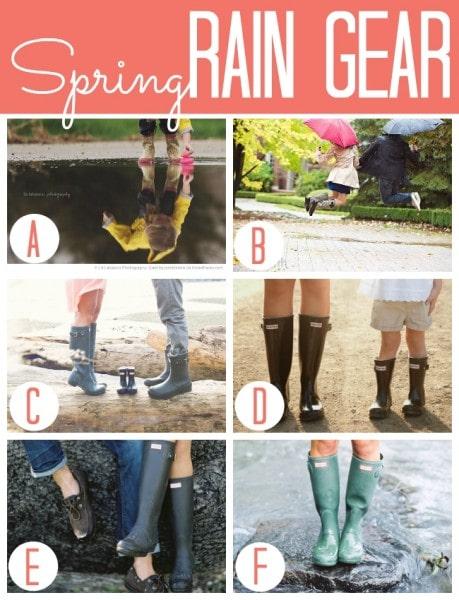 Spring Rain Gear