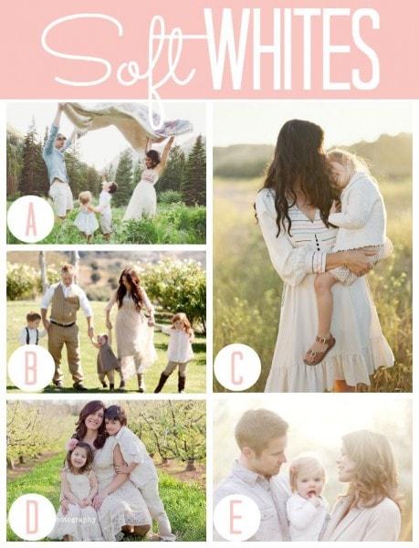 Spring Photography Soft Whites