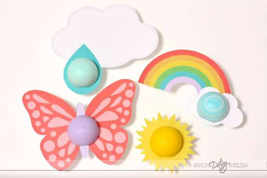 Spring Printables for EOS Chapsticks