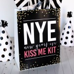 Kiss me! New Year's Eve Idea