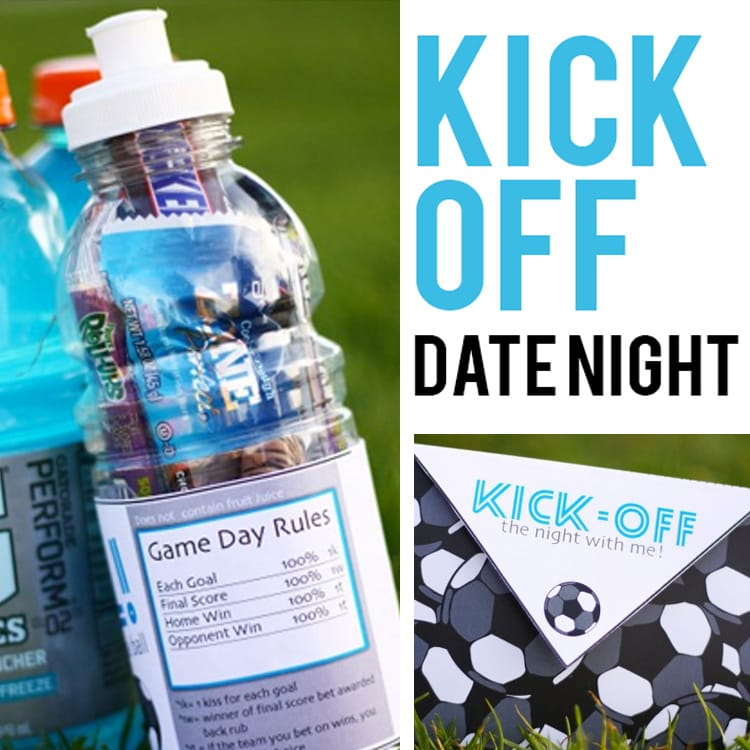 Kick-Off Soccer themed date night idea
