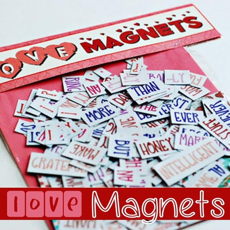 Love Magnets long distance idea