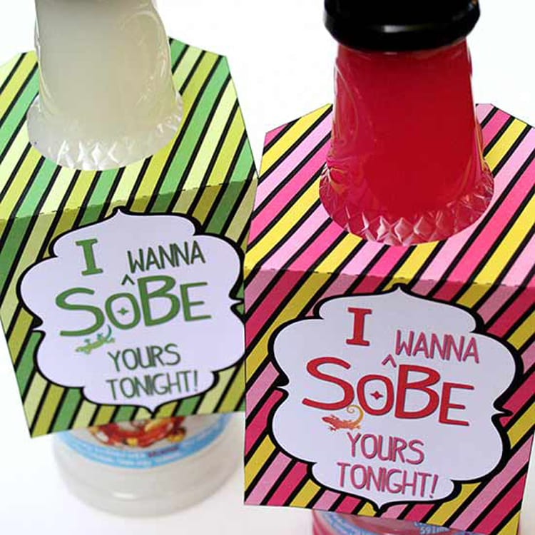Sobe Surprise printable love note