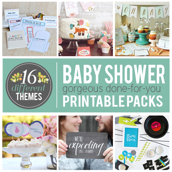 16 Baby Shower Themes
