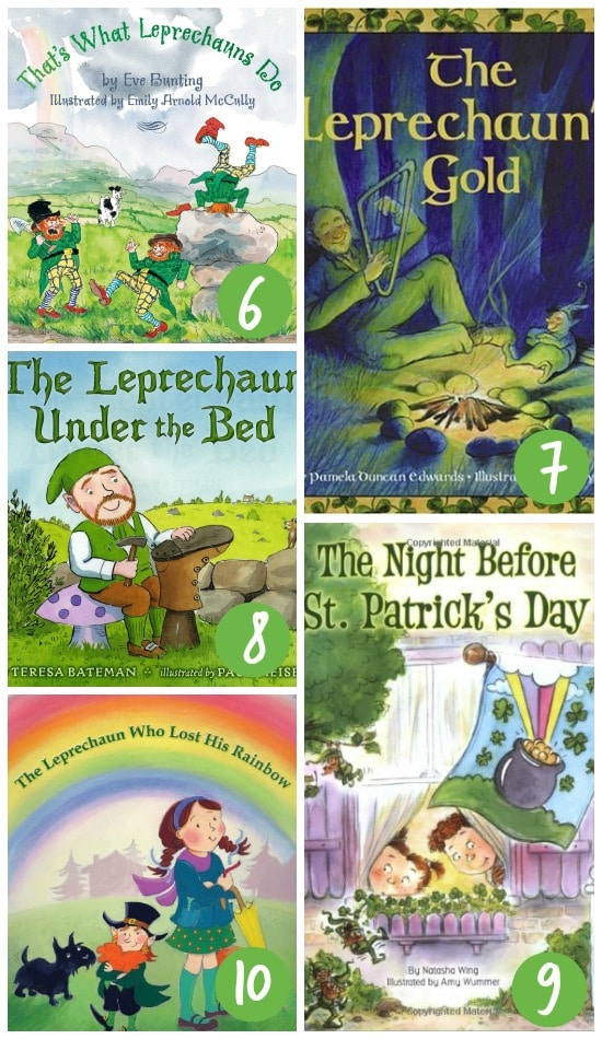 St. Patrick's Day Books About Leprechaun Traps