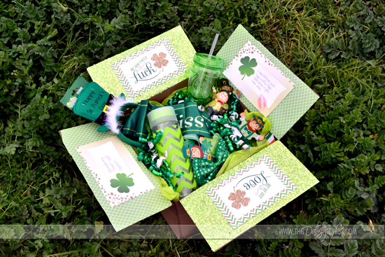 St. Patrick's Day Care Package Ideas