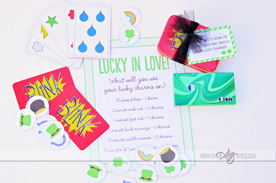 Free Lucky in Love Printables from The Dating Divas