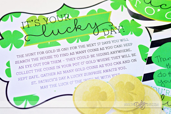 Lucky Pot O' Gold Invitation