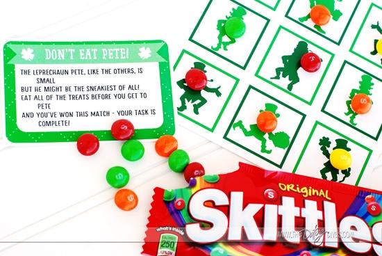 St. Patrick's Day Scavenger Hunt Game: Don't Eat Pete