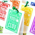 St. Patrick's Day Scavenger Hunt rainbow bags