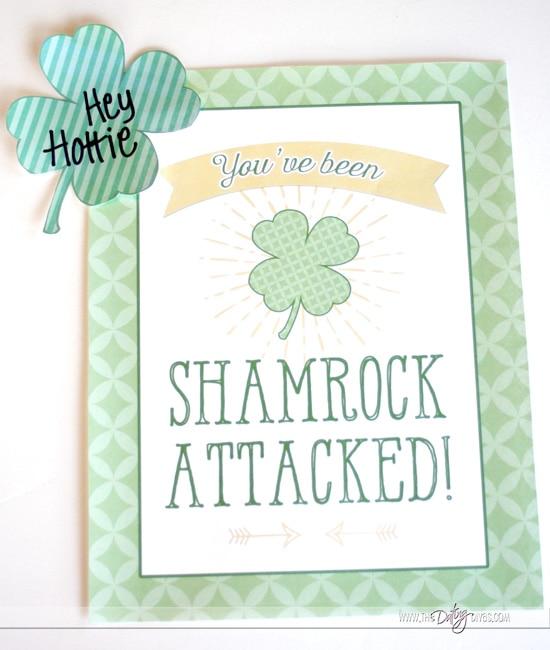 St. Patrick's Day Door Sign