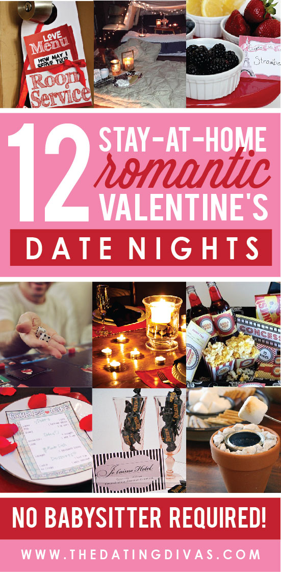 At Home Romantic Valentine's Day Date Nights