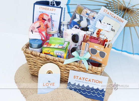 Staycation Printable Kit