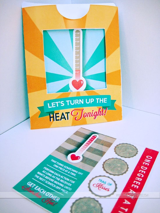 Steamy Printables Game for Married Couples