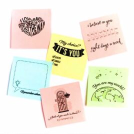 Love notes to remind your spouse that you are always thinking of them!