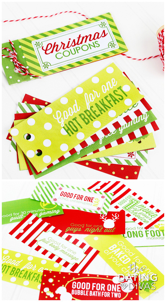 stocking stuffer coupons - Stocking Stuffer Idea
