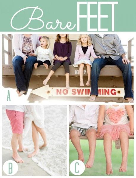 Summer Bare Feet