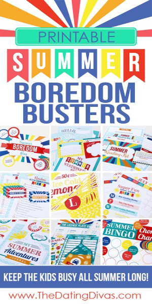 Summer Boredom Busters 300x600