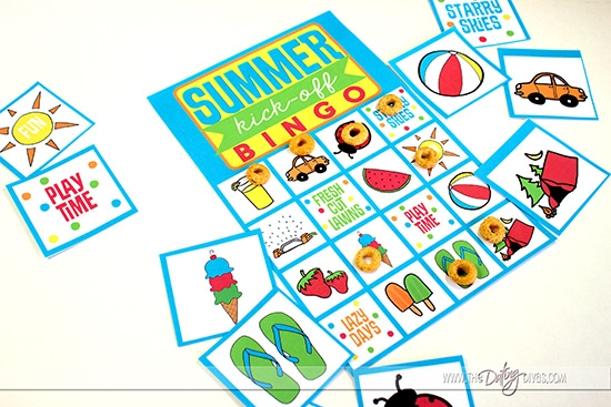 Summer Breakfast Bingo