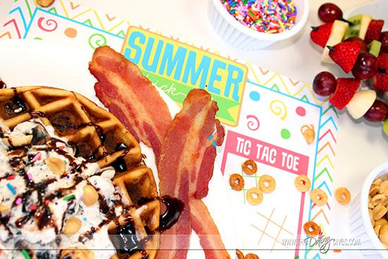 Summer Breakfast Idea