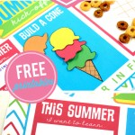 Summer Breakfast Kick-Off Placemat Printable Pack