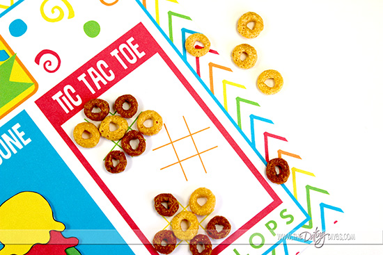 Summer Breakfast Placemat -Tic Tac Toe