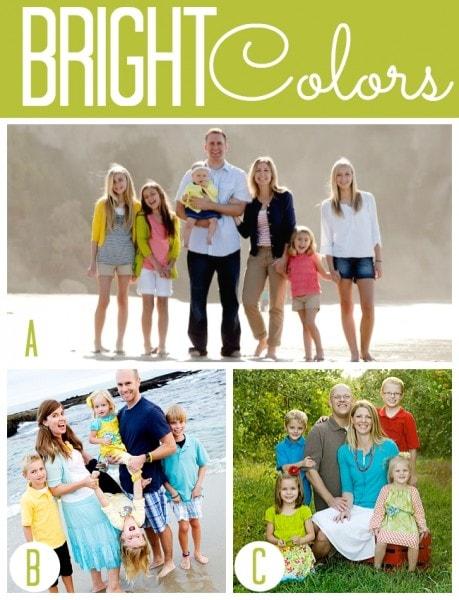 Summer Bright Colors