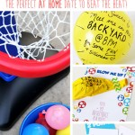 Summer Date Night Water Balloon Basketball
