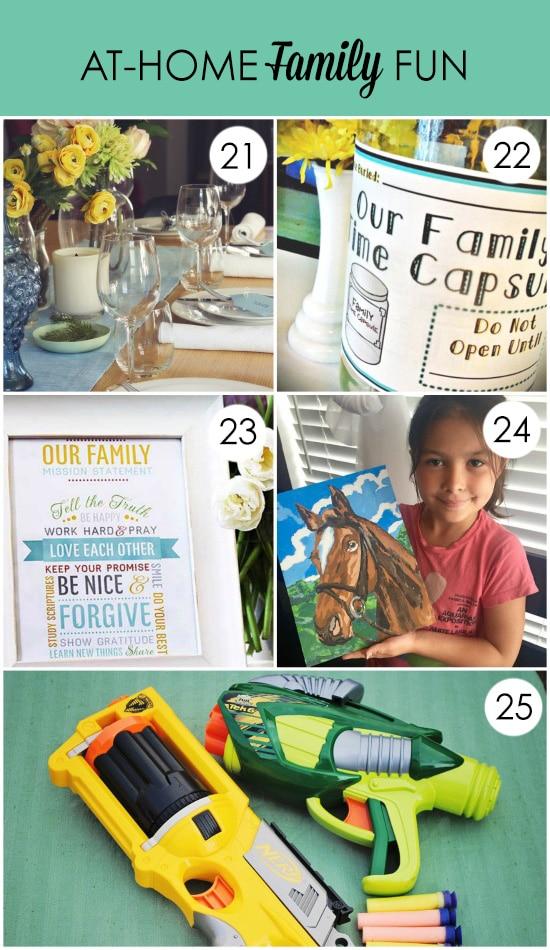 Summer Family Fun Ideas