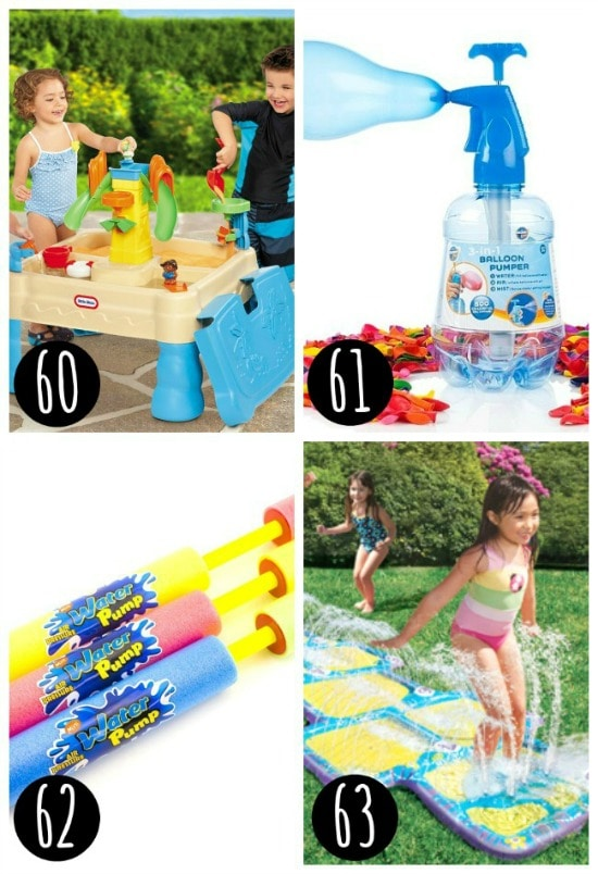 Water activities for kids
