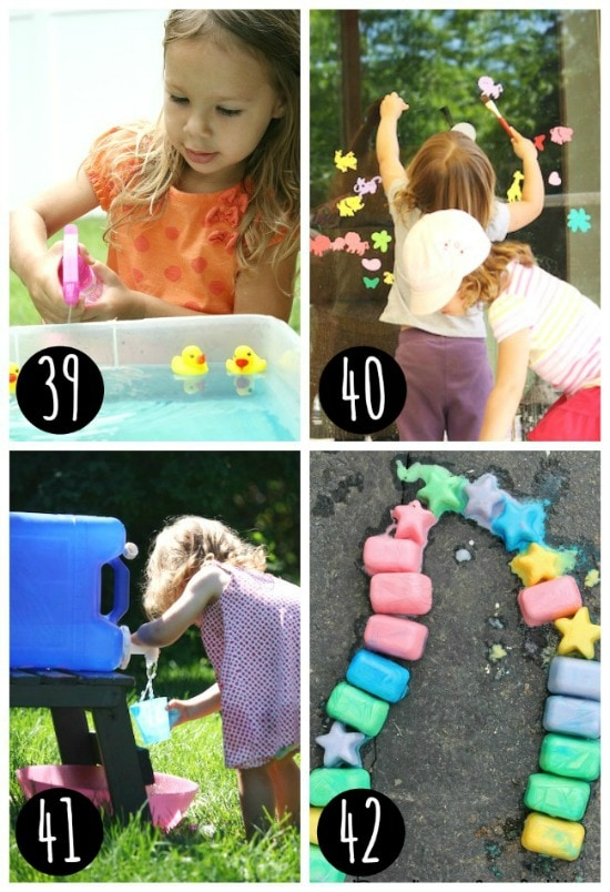 Fun outside play ideas!