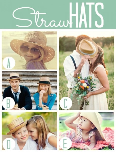 Summer Straw Hats