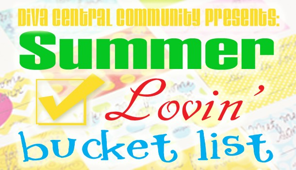 Summer Lovin' Bucket List