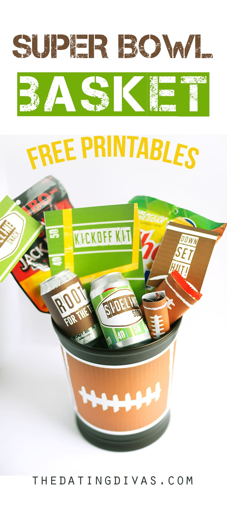 Super Bowl Basket Free Printables