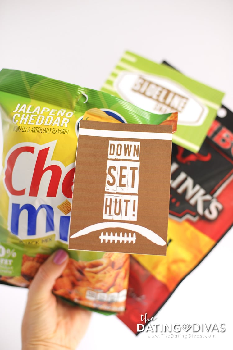 Super Bowl Sideline Snacks
