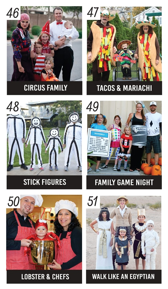 Super Creative Family Costume Ideas