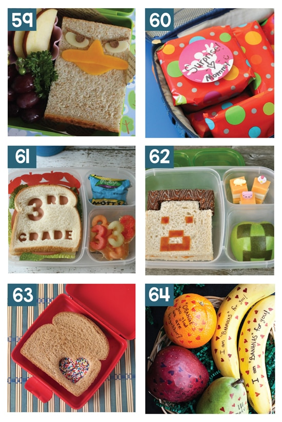 Super Creative and Easy School Lunch Ideas