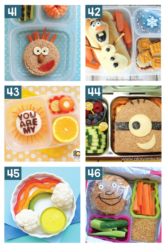 Super Fun Kids School Lunch Ideas