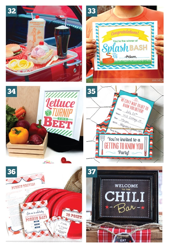 Super Fun Outdoor Group Date Ideas (Free Printables Included)