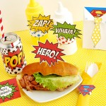 Father's Day Superhero Lunch