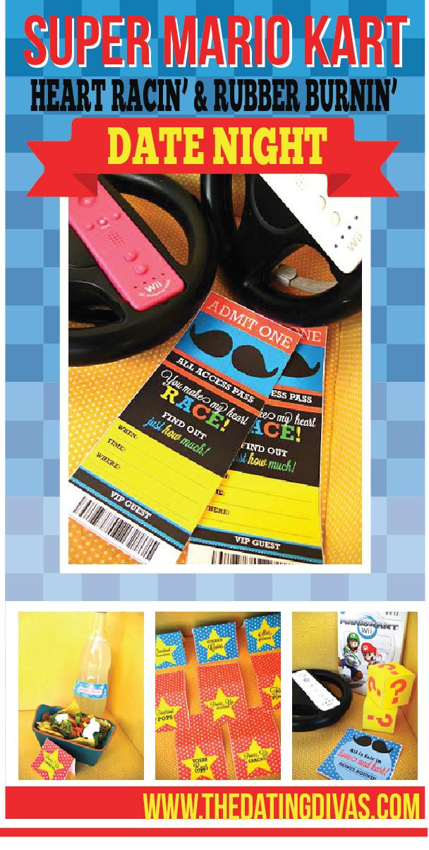 Super Mario Kart & Go-Cart Date Night