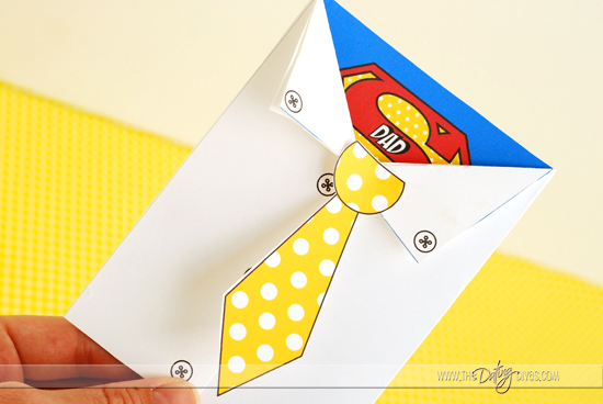 Super Hero Father's Day Card