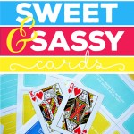 Sweet and sassy bedroom card game