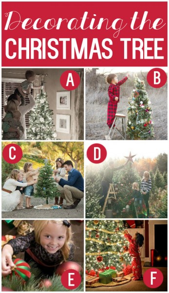 TONS of Family Christmas Photo Ideas