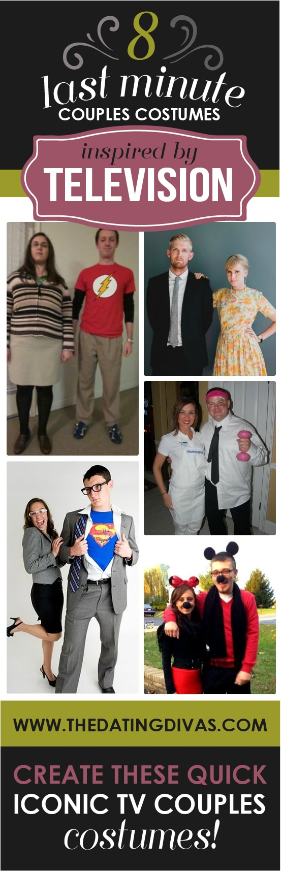 Couples Halloween Costumes Inspired by TV