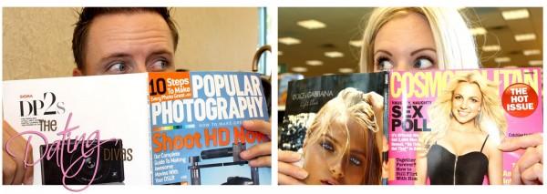Bookstore Date Magazines