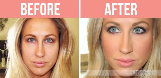 Tara-FlawlessFace-Before&After