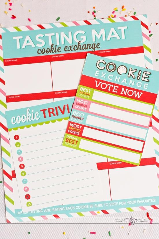 Cookie Exchange Games