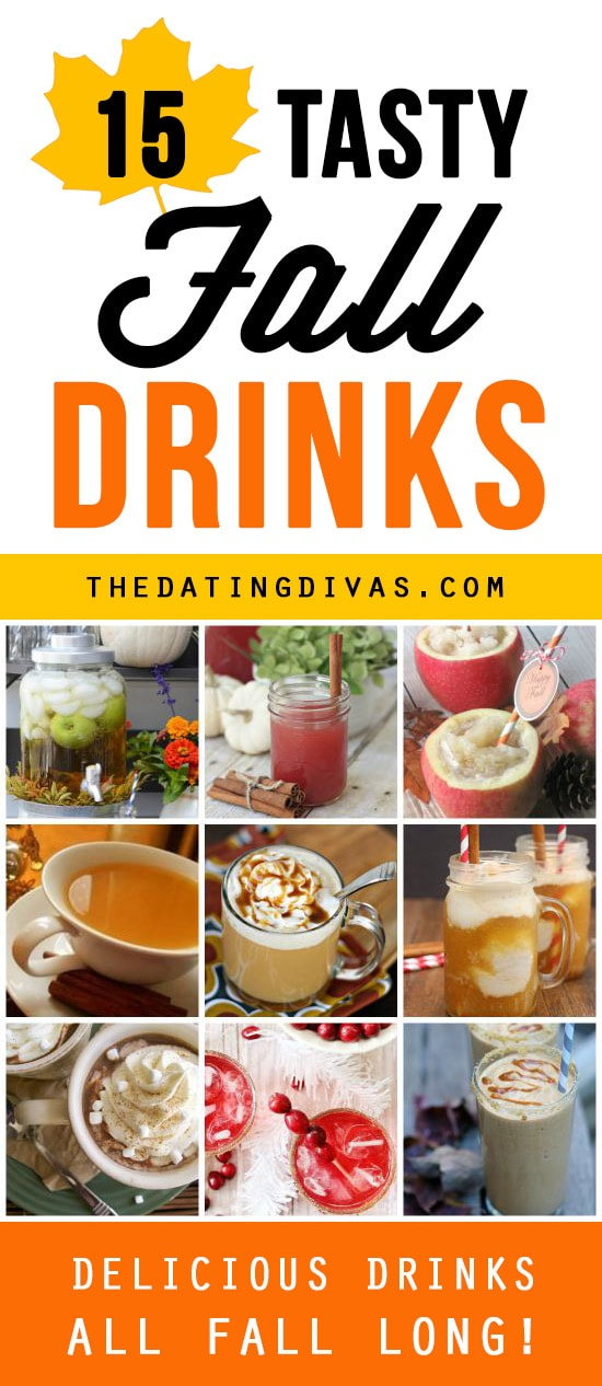 100 fall favorites for Fun fall drinks