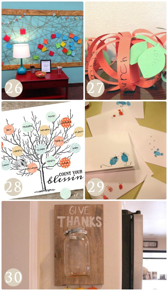 Unique crafts that teach your children about gratitude.